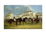 Preparing to Start for the Emperor of Russia's Cup at Ascot, 1845 Print by John Frederick Herring I