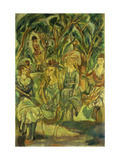 Women in the Park Prints by Jules		 Pascin