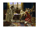 Entertaining the Harem Giclee Print by Daniel		 Israel