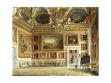 Interiors of the Palazzo Pitti, Florence Posters by Domenico		 Caligo