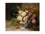 Floral Still Life (Spring) Premium Giclee Print by Eugene Henri Cauchois