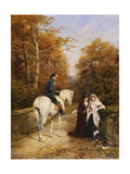 The Peacemaker Premium Giclee Print by Heywood		 Hardy