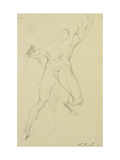 Haman, After Michelangelo Prints by Henry Fuseli