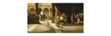 The Arrival Premium Giclee Print by Pietro Gabrini