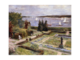 Garden of the Arnhold Family by the Wansee River Giclée-Druck von Max		 Liebermann