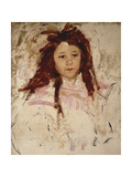 Agnes Poster by Mary Cassatt