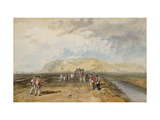Winchelsea from the Rye Road Giclee Print by J. M. W. Turner