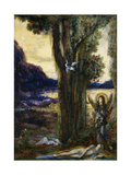 The Tears of Orpheus Giclee Print by Gustave Moreau