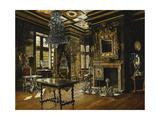 An Interior at Rosenborg Prints by Josef Theodor Hansen