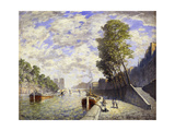 Le Quai des Grands-Augustine, Paris Prints by Frank Myers		 Boggs