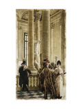 The Louvre (Foreign Visitors at the Louvre) Prints by James Tissot