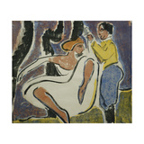 Russian Couple Dancing Prints by Ernst Ludwig Kirchner