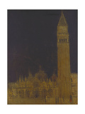 The Campanile, Venice Giclee Print by Walter Richard Sickert