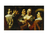 The Five Senses Giclee Print by Jan		 Lievens