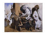 Noreddin Ali Leaving Cairo Giclee Print by Sir William		 Orpen