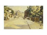 London Street, Bath, looking towards Walcot Print by Walter Richard		 Sickert