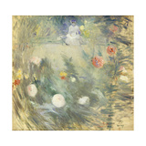 Nanny at the End of the Garden Giclee Print by Berthe		 Morisot