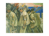 The Fishermen's Return Giclee Print by Emil Zoir