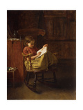 The Boston Rocker Posters by Eastman		 Johnson