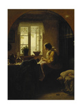 At the Window Giclee Print by Anton Laurids Johannes		 Dorph