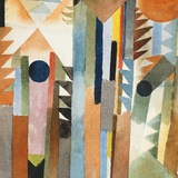 The Forest that Grew from the Seed Prints by Paul Klee