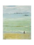 A Calm Day, Tangier Bay Kunstdrucke von Sir John Lavery