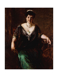 Portrait of Mrs Giclee Print by William Merritt		 Chase