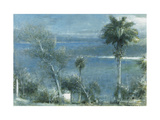 Moonlight at Port Antonio, Jamaica Posters by Albert		 Goodwin