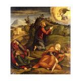The Agony in the Garden Giclee Print by Santacroce Girolamo