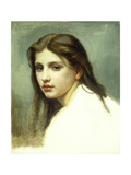 Study for 'Baigneuses' Premium Giclee Print by William Adolphe Bouguereau