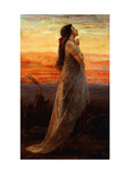 The Lament of Jephthah's Daughter Prints by George Elgar		 Hicks