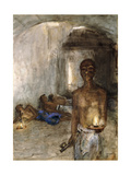 Opium Smoker, Saigon Giclee Print by Marius Alexander Bauer