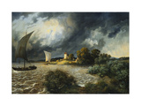 The Approaching Storm Giclee Print by Ernst Ferdinand		 Oehme
