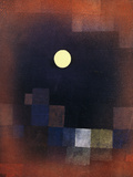 Mondaufgang Kunstdruck von Paul Klee