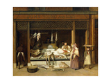 John Young and Sons, the Fishmongers Giclee Print by Jacques-Laurent		 Agasse