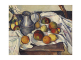 Still Life with Apples Giclee Print by Emil		 Orlik