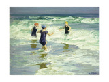 Three of a Kind Premium Giclee Print by Edward Henry		 Potthast