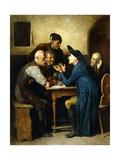 Talking Politics Giclee Print by Friedrich Friedlander