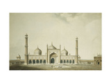 The Jama Masjid, Delhi Giclee Print by William		 Daniell