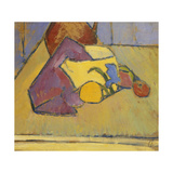 The Yellow Saucepan Poster by Alexej Von Jawlensky