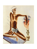 Fakir Giclee Print by Frits		 van den Berghe