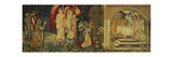 The Achievement of the Holy Grail by Sir Galahad, Sir Bors and Sir Percival Premium Giclee Print by Edward		 Burne-Jones