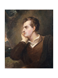 Lord Byron Prints by Thomas		 Sully