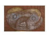 Creature of the Moors Art by Paul Klee