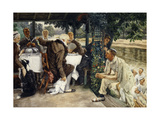 Le Veau Gras (The Prodigal Son in Modern Life: The Fatted Calf) Poster by James Jacques Joseph Tissot