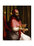 Portrait of Pope Clement VII Giclee Print by Giuliano Bugiardini