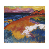 On the Ostsee; An der Ostsee Poster by Alexej Jawlensky