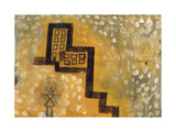 The House on the Hill Premium Giclee Print by Paul Klee
