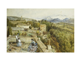 The Sierra Nevada from the Alhambra Giclee Print by Myles Birket		 Foster