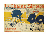 The Simpson Chain Posters by Henri Toulouse-Lautrec